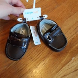 Brown Baby Boy Dress Shoes Loafers
